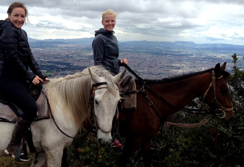 Bogota Ausritt Aussicht 2