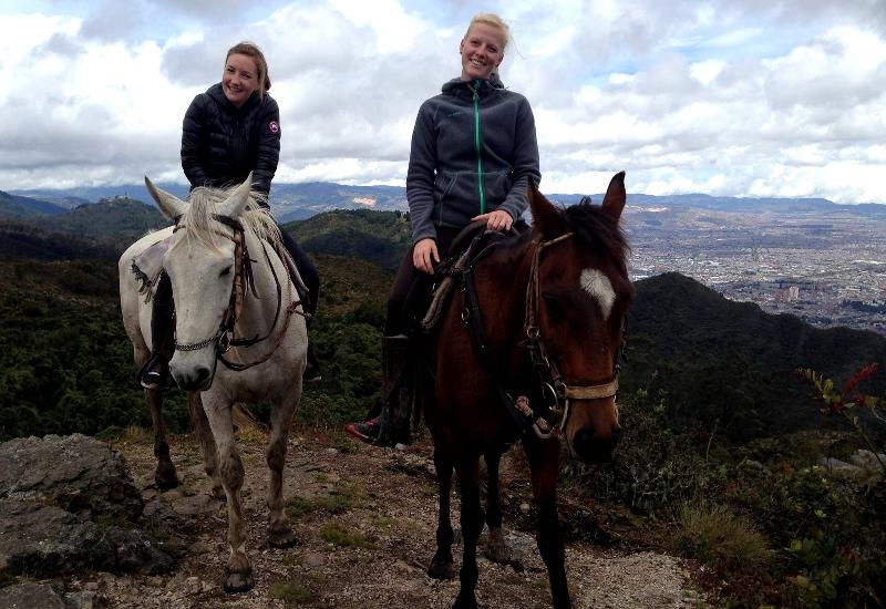 Bogota Ausritt Aussicht