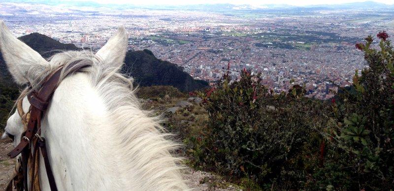 Bogota Ausritt Titel