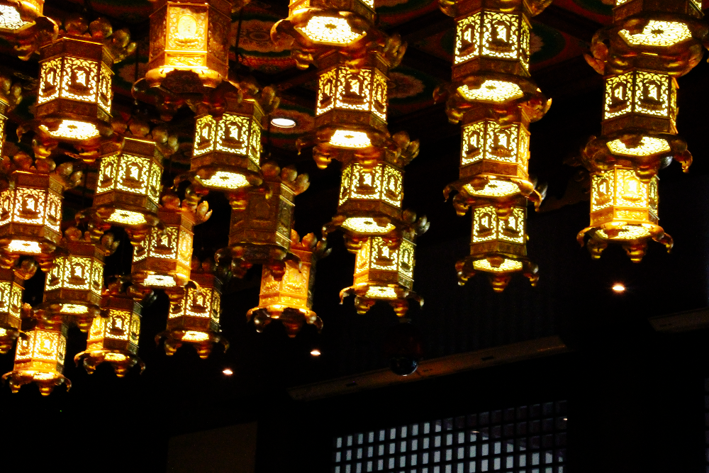 Buddha Tooth Relic Temple Lights