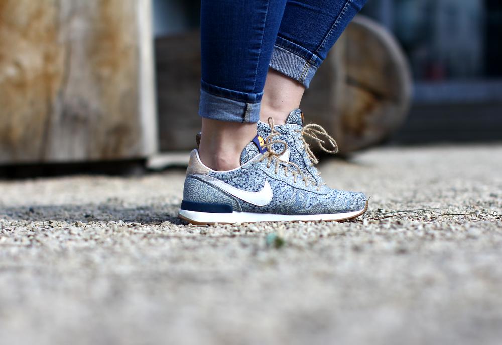 Denim on Denim Nike Liberty London Internationalist