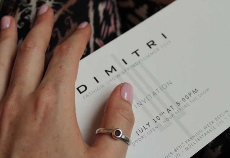 Dimitri Fashion Week