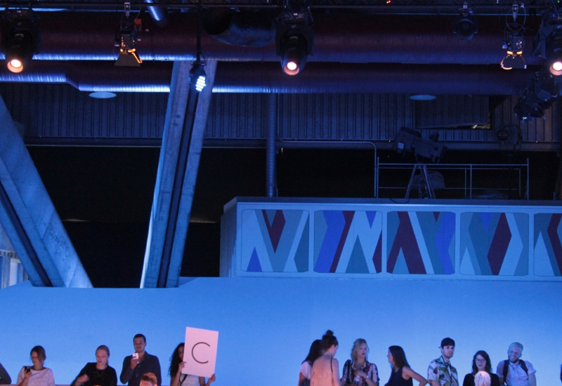 Erika Heß Eisstadion Fashion Week