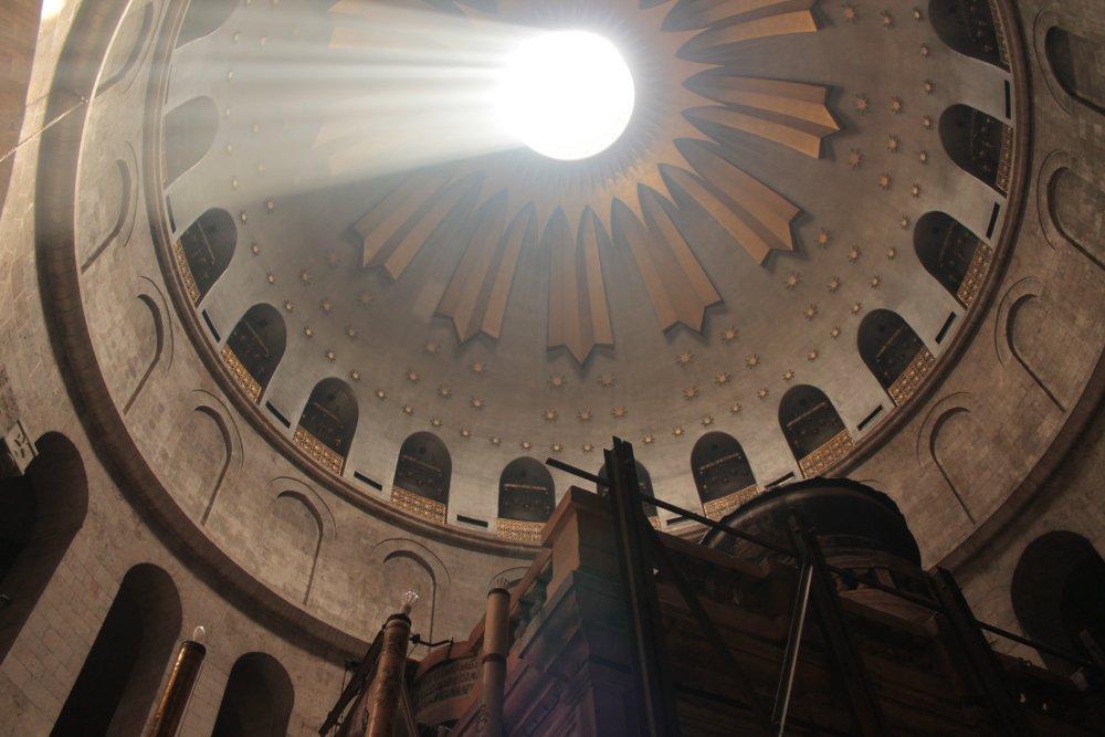 Erlöserkirche Jerusalem Himmel