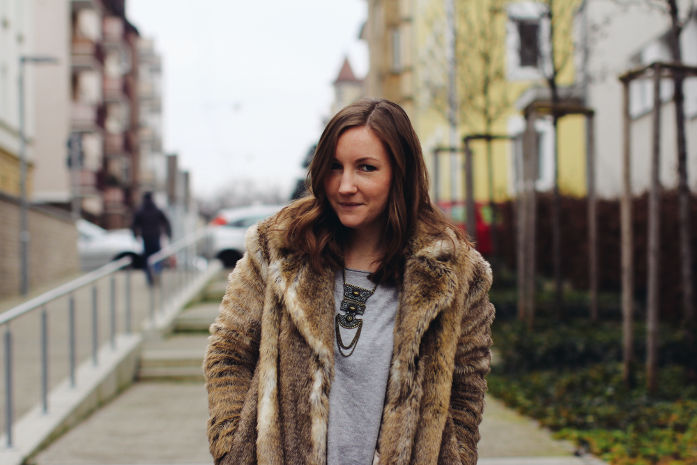 Fake Fur Coat Sceptic