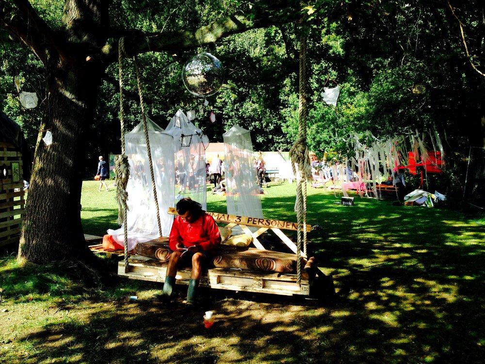 Fuchsbau Festival Schaukel