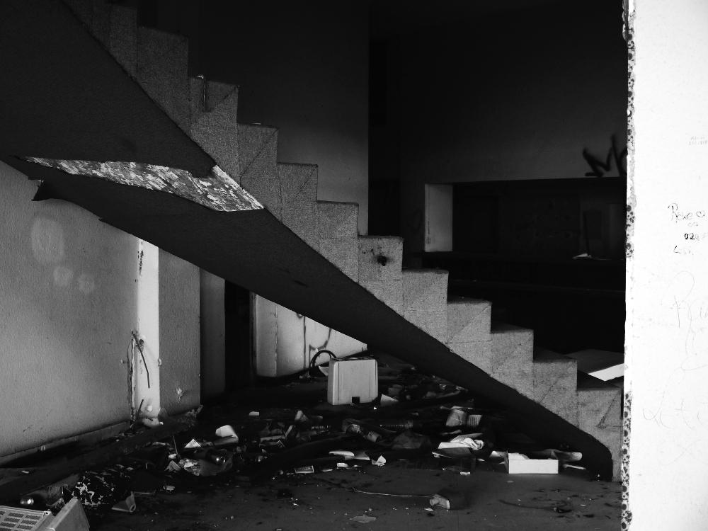 Hotel Neptuno Stairs
