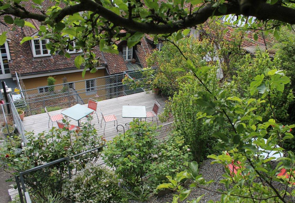 Hotel Schwert Terrasse