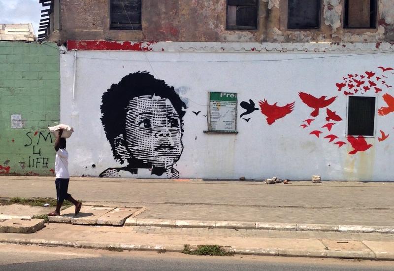 Jamestown Accra Streetart