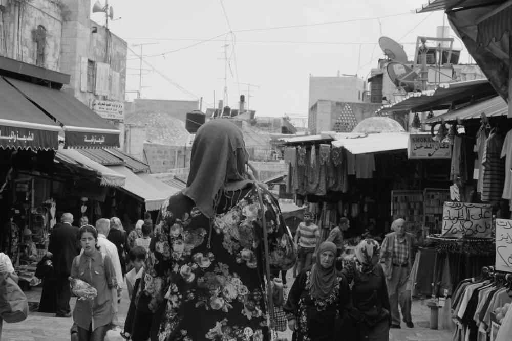 Jerusalem Muslimisches Viertel Frau