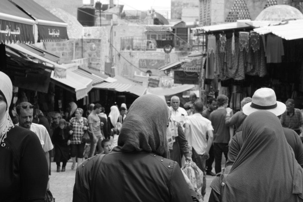 Jerusalem Muslimisches Viertel Frauen