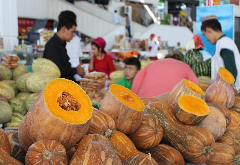 Kürbisse Ashgabat Markt