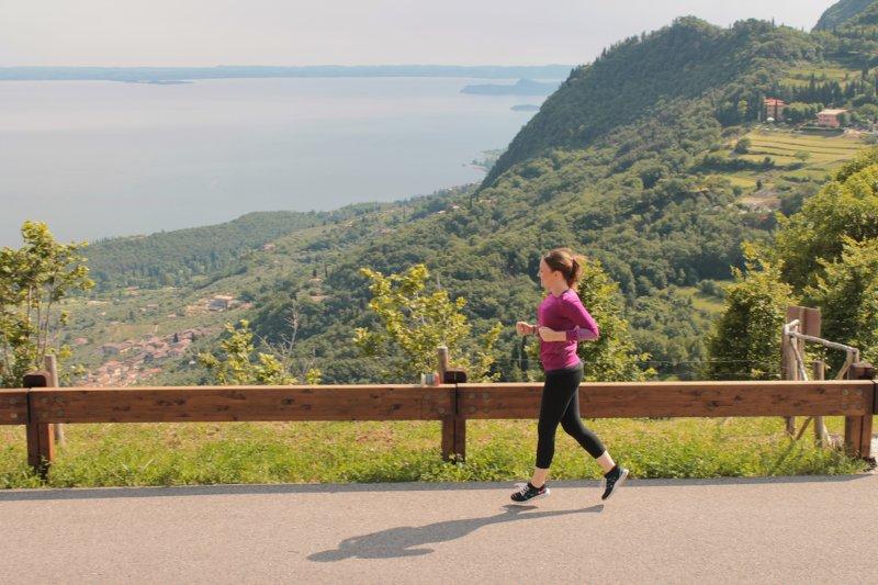 Lisa läuft Gardasee 2