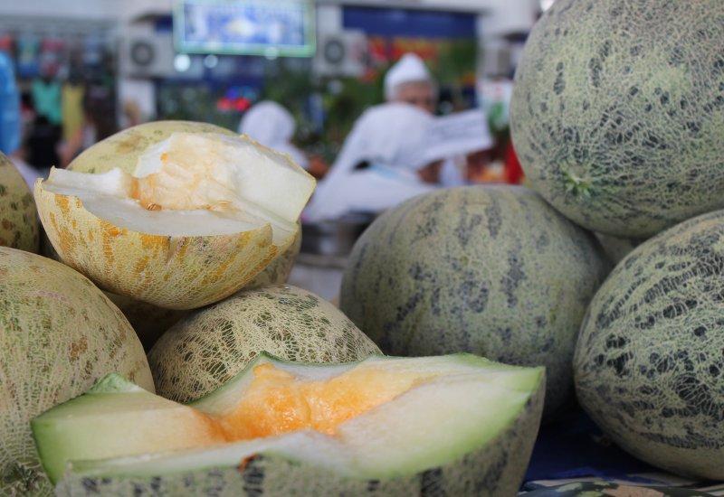 Melone Ashgabat Markt