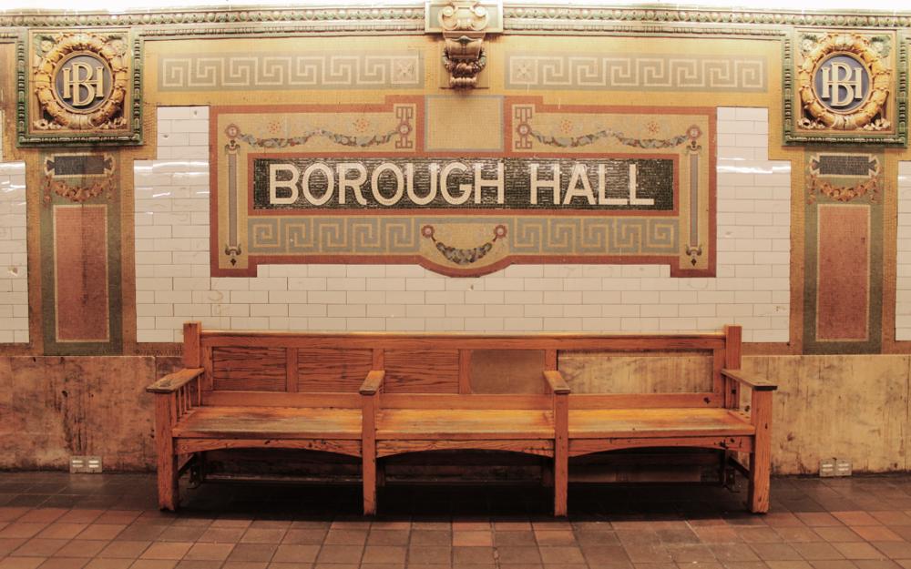 New York Borough Hall Subway