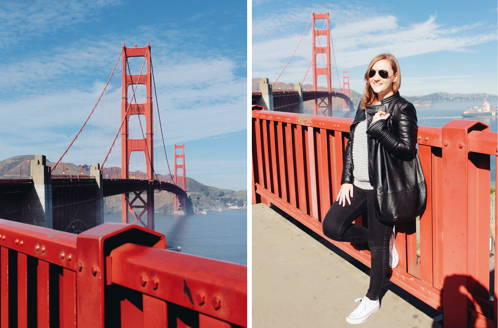 Outfit Golden Gate Bridge SFO