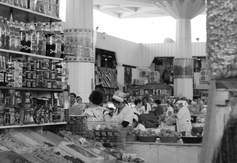 Russischer Markt Ashgabat BW