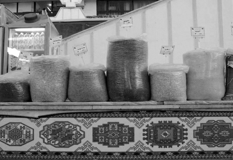 Russischer Markt Ashgabat Spices