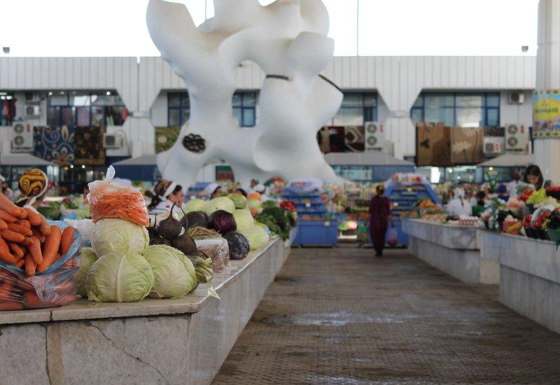 Russischer Markt Ashgabat