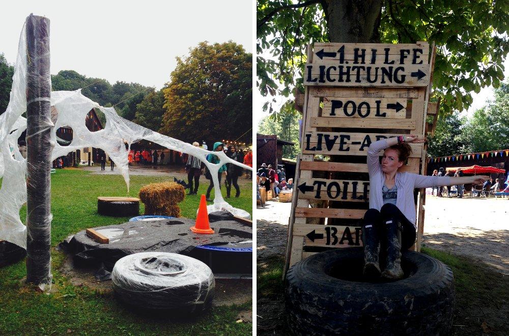 Wegweiser Fuchsbau Festival